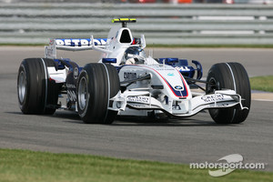 Vettel made his F1 debut during the USA GP in 2007 for BMW Sauber