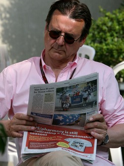 Hans Mahr, Manager of Ralf Schumacher, Former RTL Editor in Chief and stv