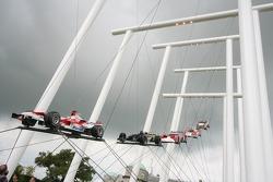 Скульптура Toyota с Фестиваля скорости в Гудвуде