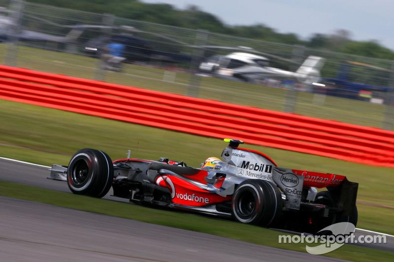Гран Прі Великої Британії 2007, McLaren MP4-22