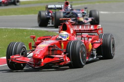 Felipe Massa, Scuderia Ferrari, F2007 and Scott Speed, Scuderia Toro Rosso, STR02
