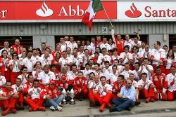 Kimi Raikkonen, Scuderia Ferrari, Felipe Massa, Scuderia Ferrari, Jean Todt, Scuderia Ferrari, Ferrari CEO