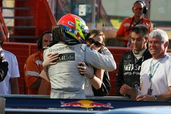 Paul di Resta, Persson Motorsport AMG Mercedes, AMG Mercedes C-Klasse, with his girl friend