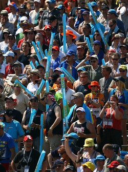 Sachsenring fans ready for the race