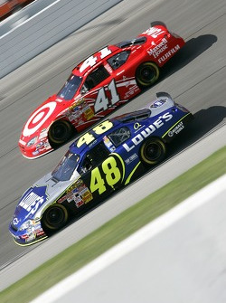 Jimmie Johnson and Reed Sorenson