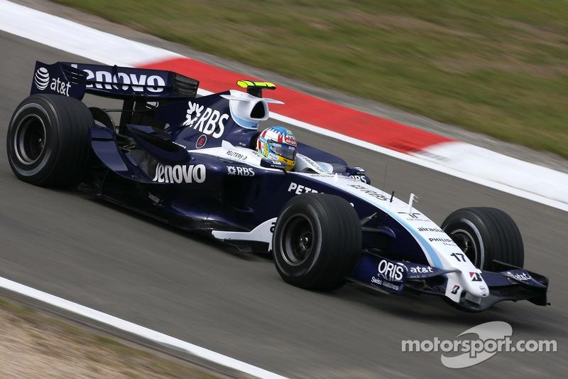 Александр Вурц еще не успел п̶р̶о̶д̶а̶т̶ь̶ ̶д̶у̶ш̶у̶ ̶д̶ь̶я̶в̶о̶л̶у стать активным сторонником инициатив FIA,и сам участвовал в гонках. Без всяких Halo