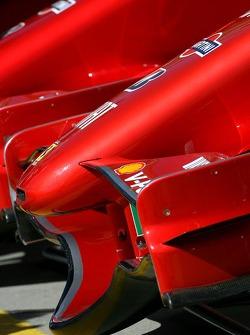 Переднє антикрило Scuderia Ferrari, F2007