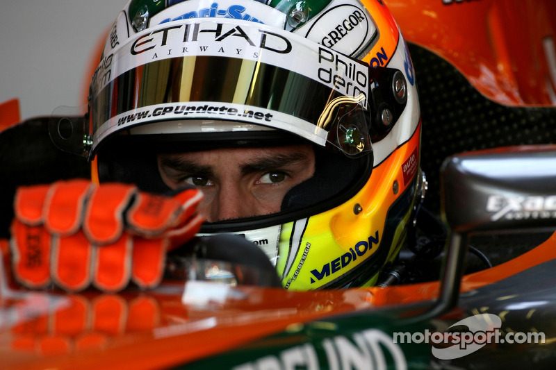 Адріан Сутіль, Spyker F1 Team, F8-VII