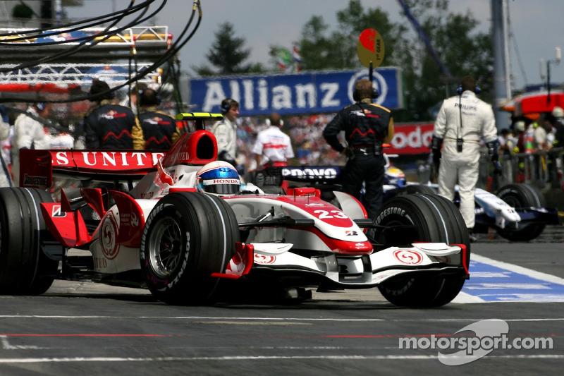 Ентоні Девідсон, Super Aguri F1 Team, SA07