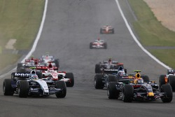 Марк Веббер, Red Bull Racing, RB3, Алекс Вурц, Williams F1 Team, FW29