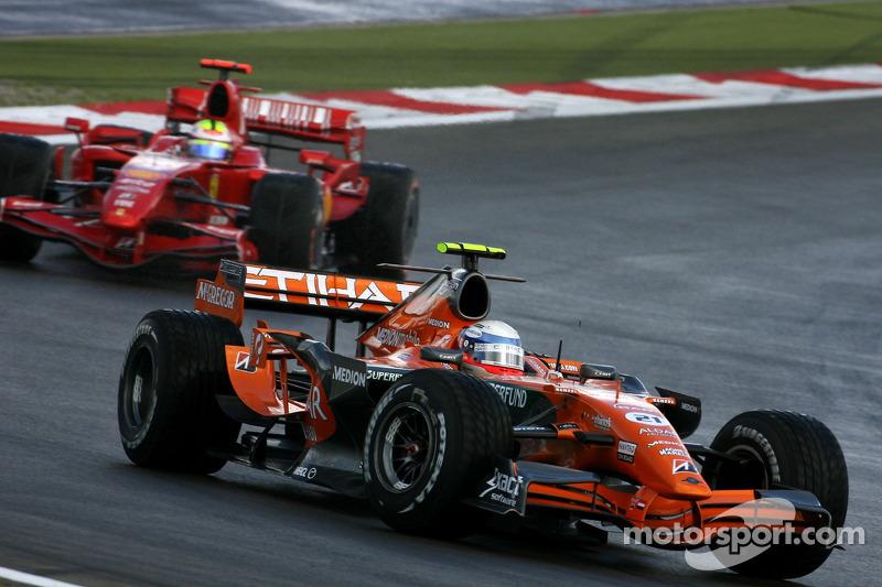 Markus Winkelhock, Spyker F1 Team, Felipe Massa, Scuderia Ferrari