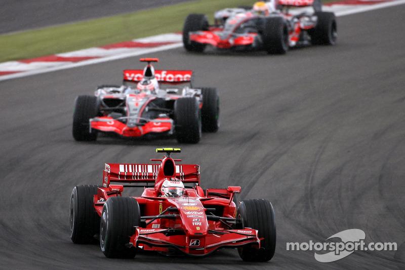 Кімі Райкконен, Scuderia Ferrari, Фернандо Алонсо, McLaren Mercedes