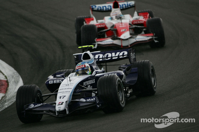 Alexander Wurz, Williams F1 Team FW29