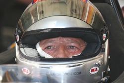 Mario Andretti drives the Minardi F1X2