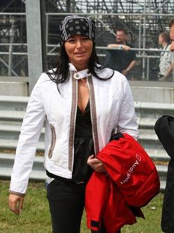 Girlfriend of Timo Scheider, Audi Sport Team Abt Sportsline, Audi A4 DTM