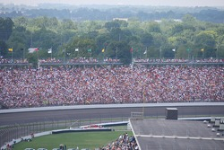 A big crowd at the Indianapolis Motor Speedway