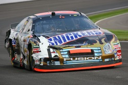 Ricky Rudd back on the track after damage repair