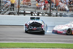 Tony Raines and Kasey Kahne crash