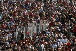 A big crowd at Circuit Gilles-Villeneuve for the Grand Am Rolex Series race
