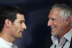 Mark Webber, Red Bull Racing y Dietrich Mateschitz, dueño de Red Bull