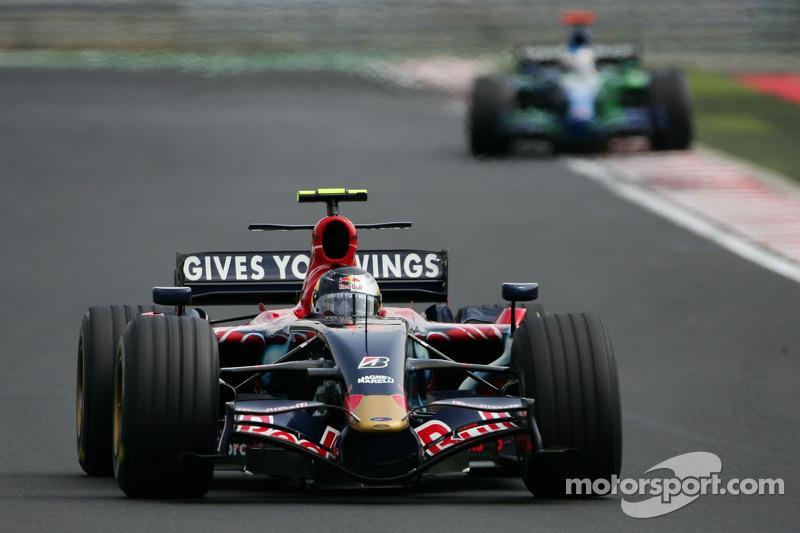 Sebastian Vettel snel in China