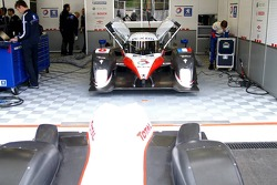 The Team Peugeot, diesel engined 908