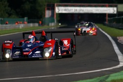 The Kemmel straight; #13 Courage Competition Courage LC70-AER: Jean-Marc Gounon, Guillaume Moreau, Vitaly Petrov