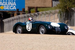 Harley Cluxton, 1953 Jaguar C-T