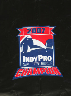 Indy Pro Series championship signage
