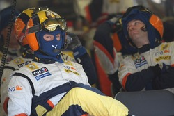 Renault mechanic pit stop crew
