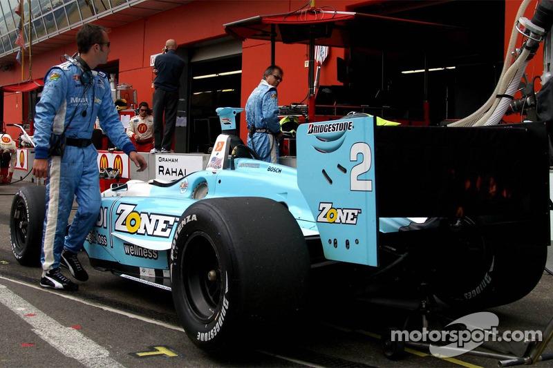 # 2 Newman Haas Lanigan Racing of teammate Graham Rahal