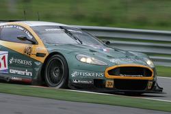 Fagnes: #51 Amr Larbre Competition Aston Martin DBR9: Gregor Fisken, Steve Zacchia, Gregory Franchi