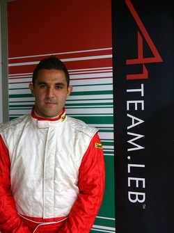 Jimmy Auby, driver of A1 Team Lebanon