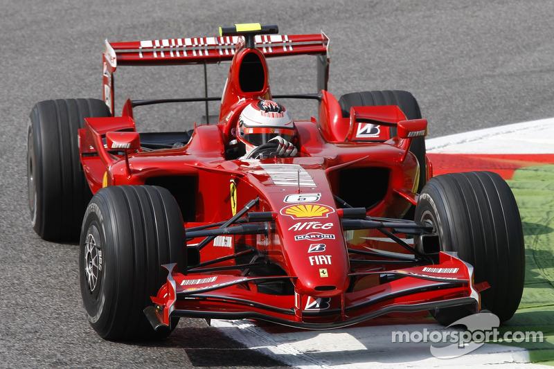 #6: Kimi Räikkönen, Scuderia Ferrari, F2007