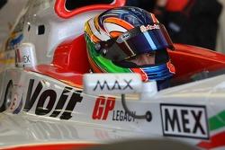 Arturo Gonzalez, driver of A1 Team Mexico