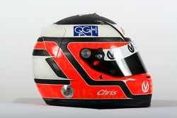 Christian Vietoris, driver of A1 Team Germany, helmet