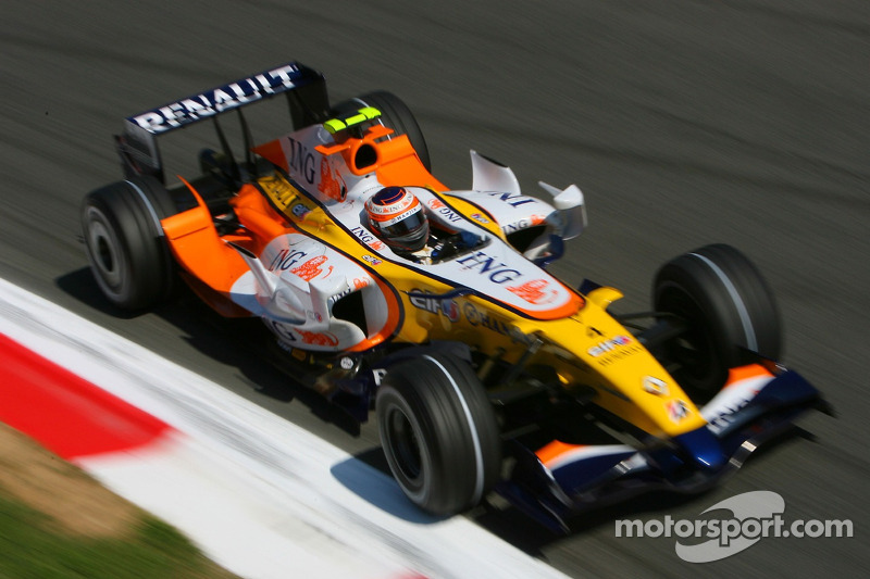 #4 : Heikki Kovalainen, Renault R27