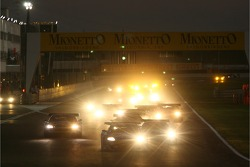 Start: #33 Jetalliance Racing Aston Martin DB9: Karl Wendlinger, Ryan Sharp leads the field