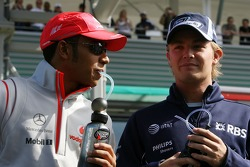 Lewis Hamilton, McLaren Mercedes, Nico Rosberg, WilliamsF1 Team