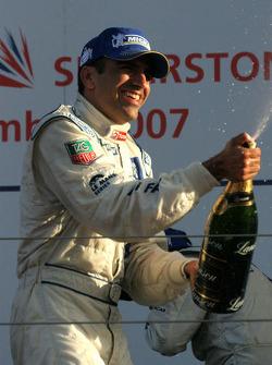 Podium: race winner Marc Gene