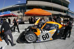 Michael Shank Racing team members at work