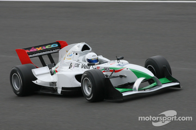 2007 Esteban Gutiérrez, piloto de A1 Team México