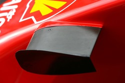 Scuderia Ferrari wing detail
