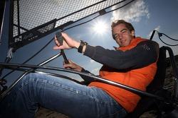 Char à voile: Jeroen Bleekemolen, pilote A1 Equipe des Pays Bas