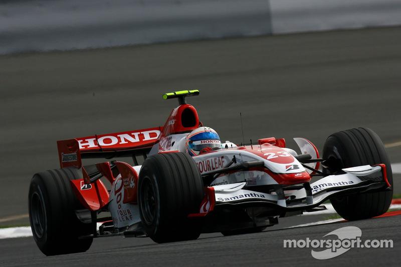 #23: Anthony Davidson, Super Aguri F1 Team, SA07