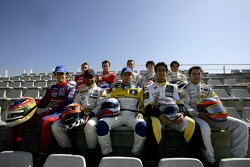 2007 GP2 Series Race winners, Timo Glock, Bruno Senna