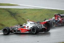 Fernando Alonso, McLaren Mercedes, Sebastian Vettel, Scuderia Toro Rosso