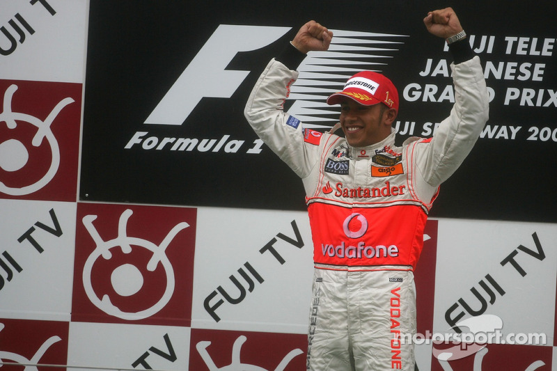 12- Gran Premio de Japón 2007 (1º), McLaren