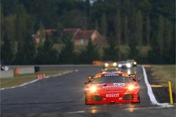 #62 Scuderia Ecosse Ferrari 430 GT7: Tim Mullen, Darren Turner