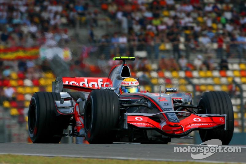 Гран Прі Китаю 2007, McLaren MP4-22